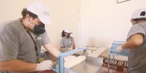 Parte das unidades foi distribuída aos centros de saúde que se dedicam ao enfrentamento da pandemia